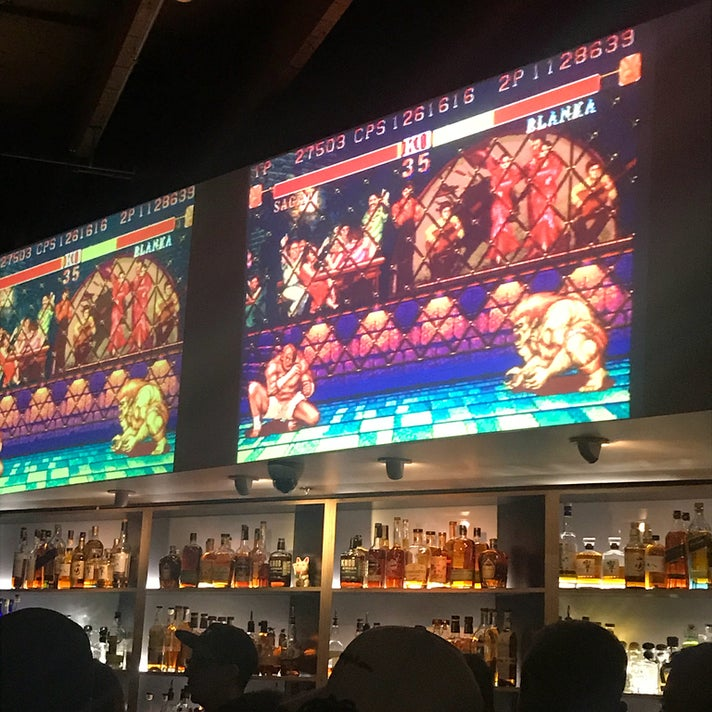 Street Fighter at EightTwo in the Arts District