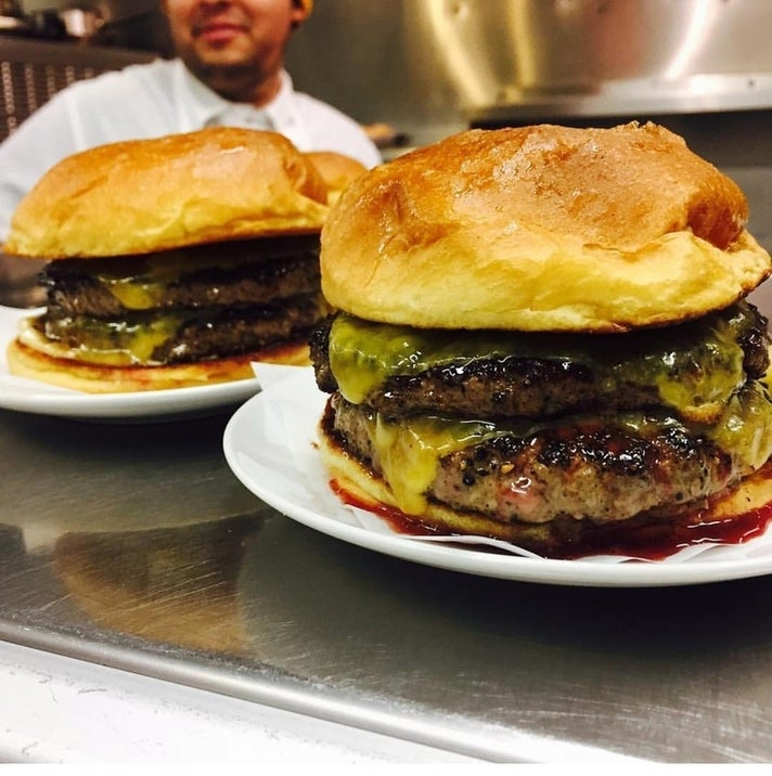 Double Single Burgers at ERB