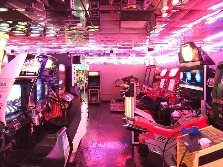 Family Arcade in East Hollywood