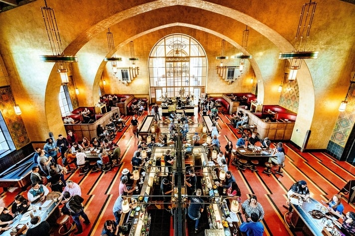 Imperial Western Beer Co. at Union Station in DTLA