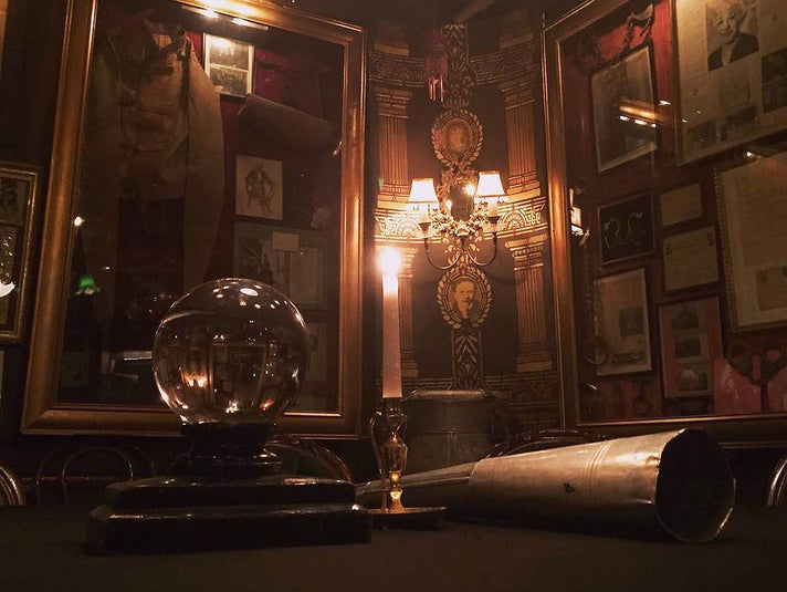 Houdini Séance Chamber at the Magic Castle in Hollywood