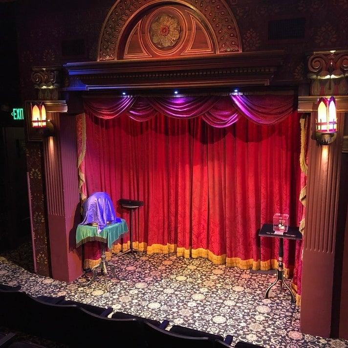 The Parlour of Prestidigitation at the Magic Castle in Hollywood