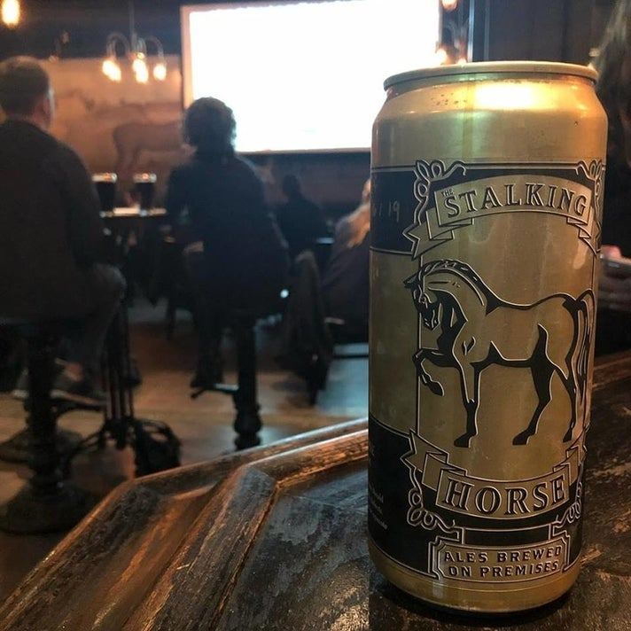 32-oz Crowler at The Stalking Horse
