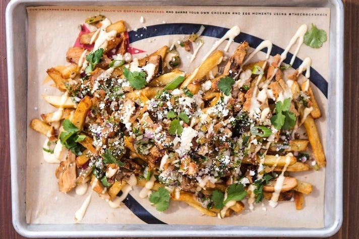Mexican Poutine at The Crack Shack