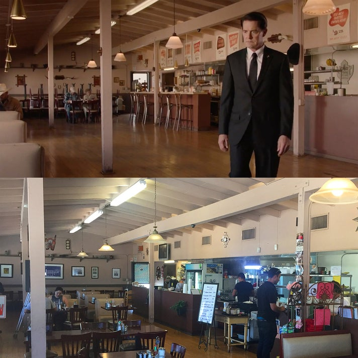 "Eat at Rudy's in the finale of ""Twin Peaks: The Return"""