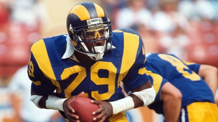 Los Angeles Rams Hall of Famer Eric Dickerson