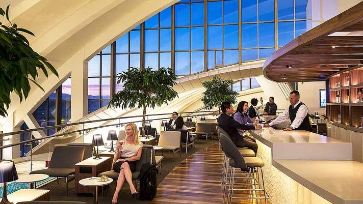 Star Alliance Lounge at LAX