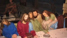 """The Last Supper"" at Hollywood Wax Museum"