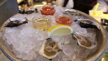 Oysters at Hungry Cat Hollywood