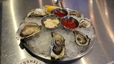 Oysters at MessHall Kitchen