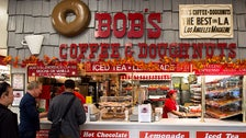 Bob's Coffee & Doughnuts at The Original Farmers Market