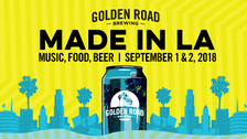 Made in LA 2018 at Golden Road Brewing