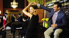 Couple dancing at the Beverly Wilshire