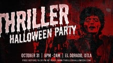 """Thriller"" Halloween party at El Dorado in DTLA"