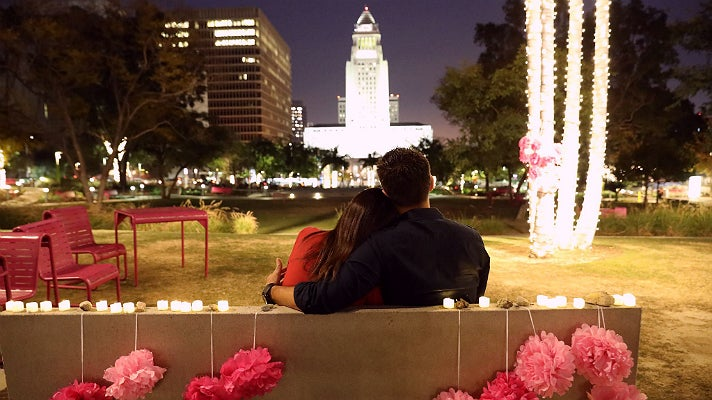 Valentine's Day at Grand Park