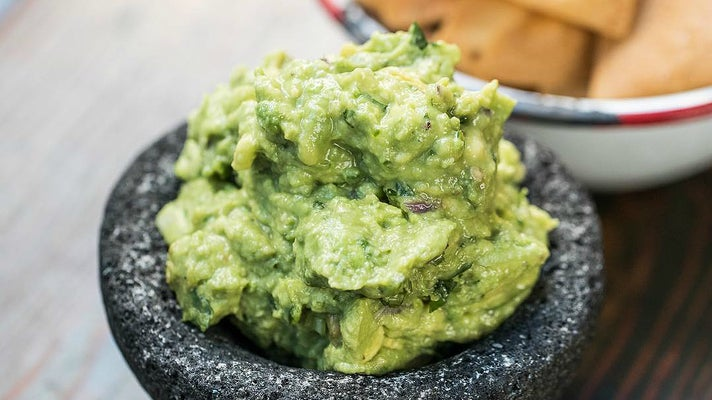 Made-to-order guacamole at Bar Amá