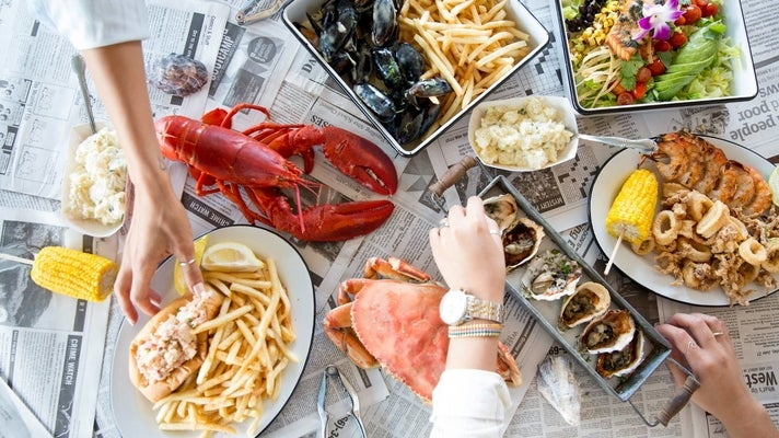 Pappy's Seafood in San Pedro