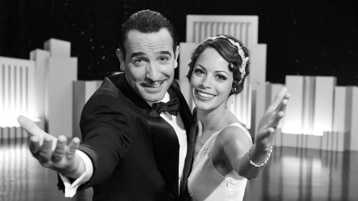 "Jean Dujardin and Berenice Bejo star in ""The Artist"""