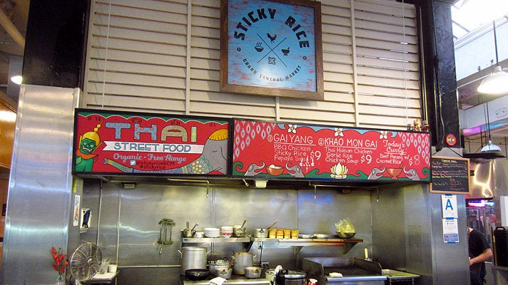 Sticky Rice at Grand Central Market