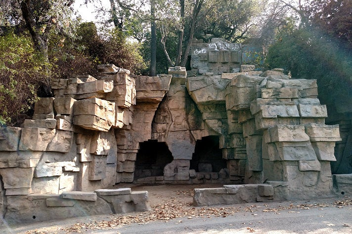 The Old Zoo at Griffith Park