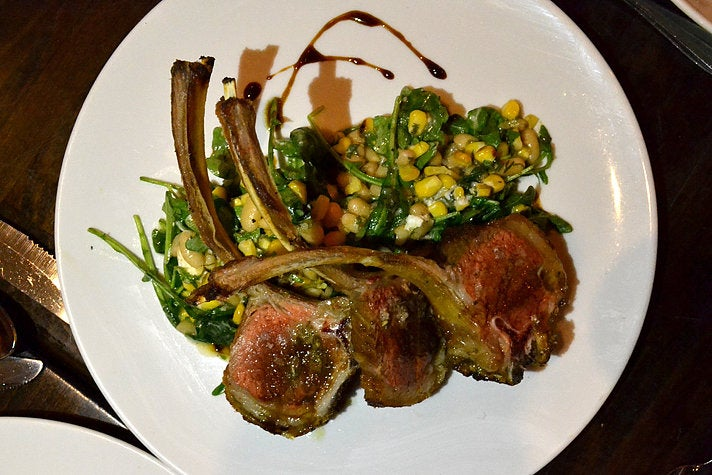 Lamb chops at Union in Pasadena
