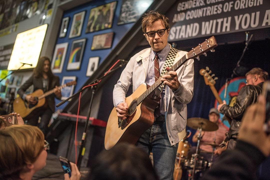 Weezer live at Amoeba Music in Hollywood