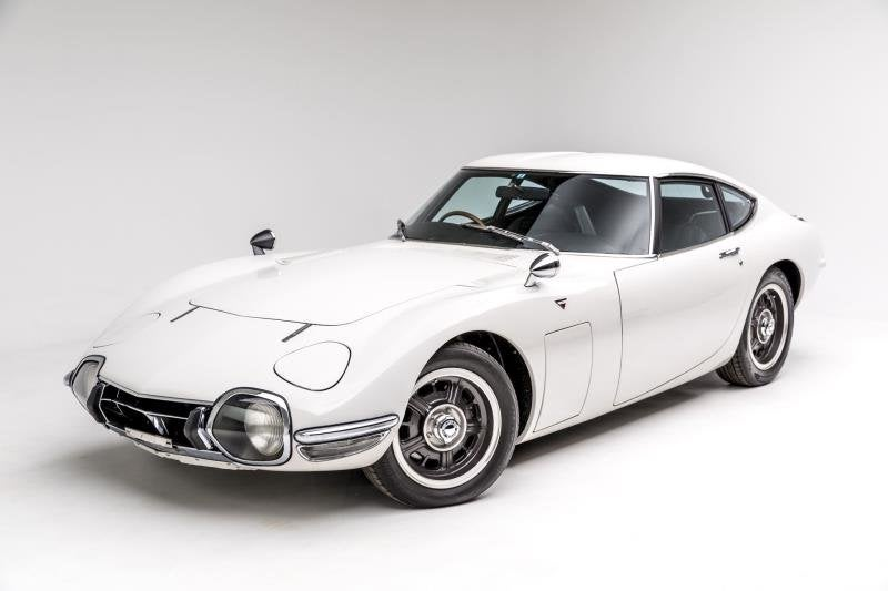 1967 Toyota 2000GT at Petersen Automotive Museum