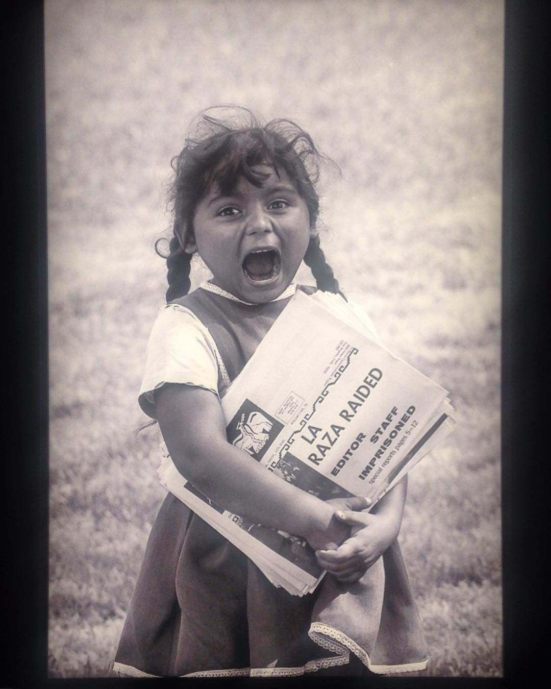 "Photo from ""LA RAZA"" exhibit at The Autry"