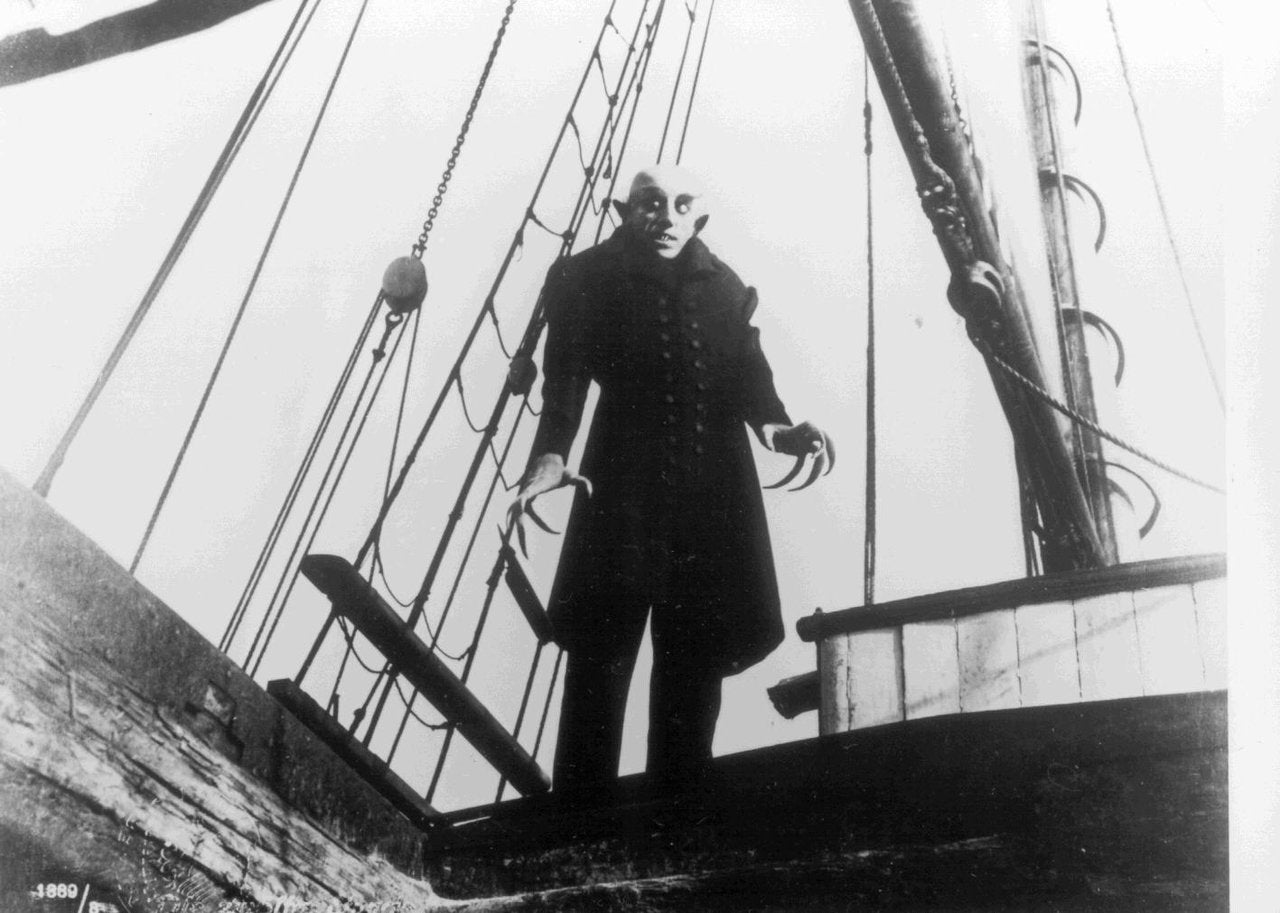 """Nosferatu"" at Walt Disney Concert Hall"