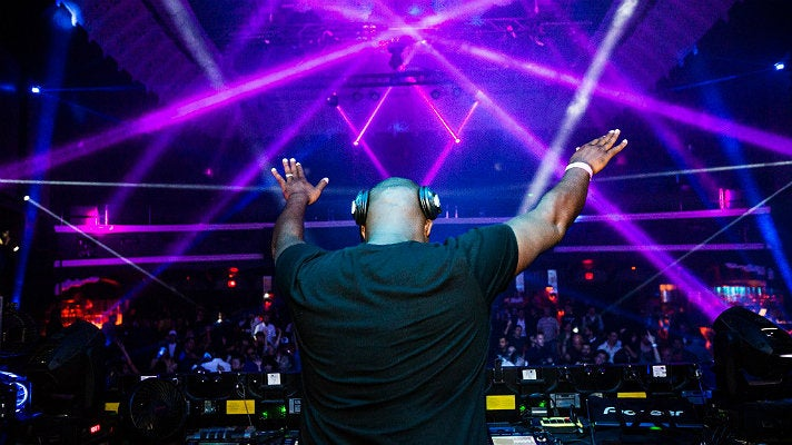 Kevin Saunderson at Avalon Hollywood