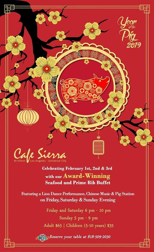 Lunar New Year 2019 at Cafe Sierra