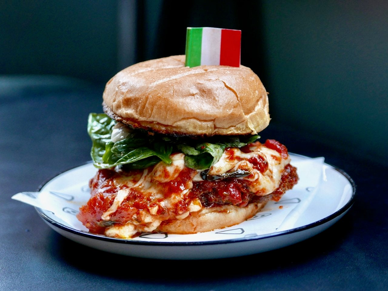 Chicken Parm Sandwich at Cosa Buona