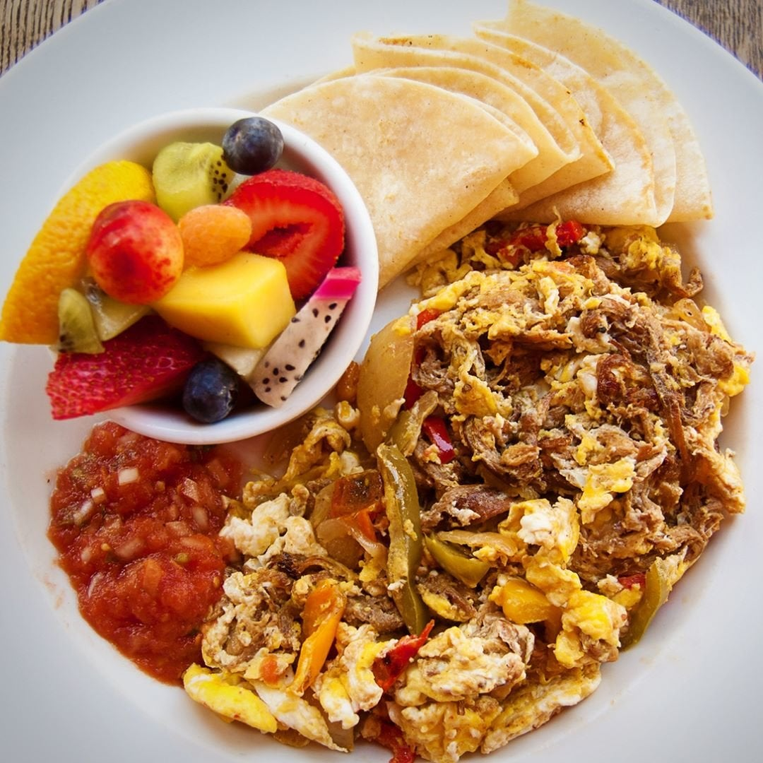 Machaca con Huevos at EAT NoHo