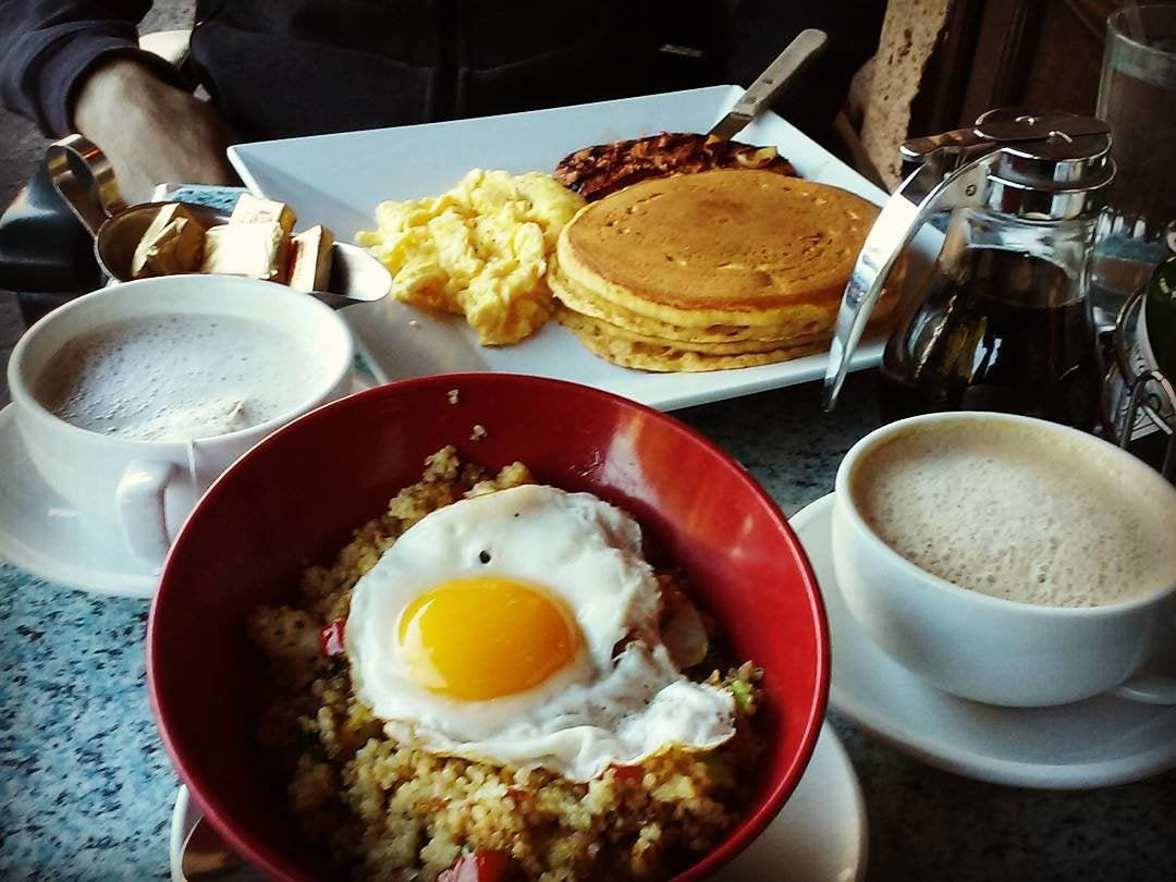 Quinoa & Egg Bowl at Jinky's Sherman Oaks