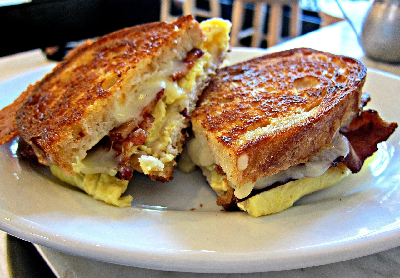 Fried Egg Sandwich at Joan's on Third in Studio City