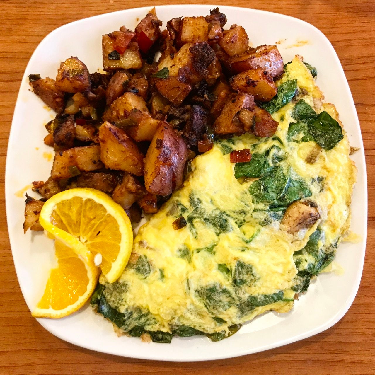 Greek Omelette at Jumpin' Java