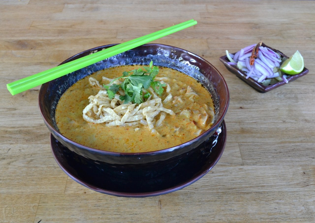 Crab khao soi at Khao Soi Thai