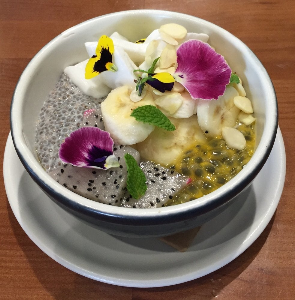Chia Bowl at Ministry of Coffee in Westwood