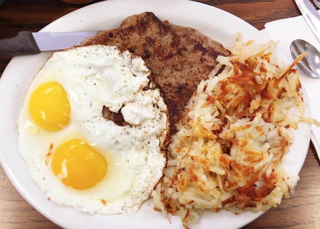 Steak & Eggs at Nat's Early Bite