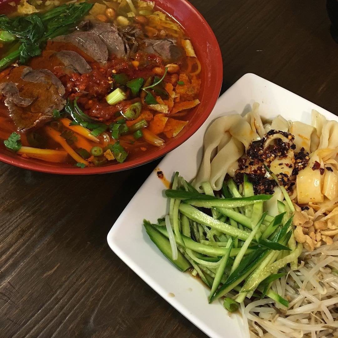 Guilin Soup and Liangpi Noodles at Qin West in Far East Plaza