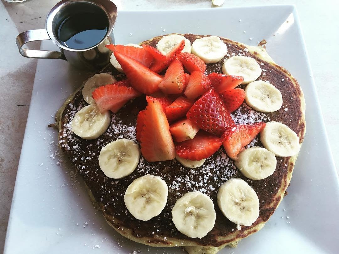 Gluten free pancakes at The Nook